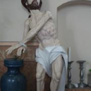 "Skulptūra ""Kristus prie stulpo"""