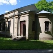 Skuodo dvaro sodybos fragmentų cerkvės pastatas
