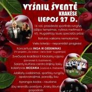 Vyšnių šventė Krakėse