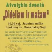 Atvelykio šventė Lenkimuose