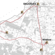 Skuodas - Lenkimai - Mosėdis