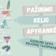 Pažinimo kelio apyrankė Lietuvos pajūrio regione